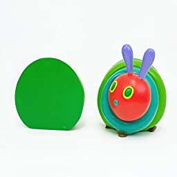 The Very Hungry Caterpillar Tall Bookends from The World of Eric Carle (Set of 2), 4.75\