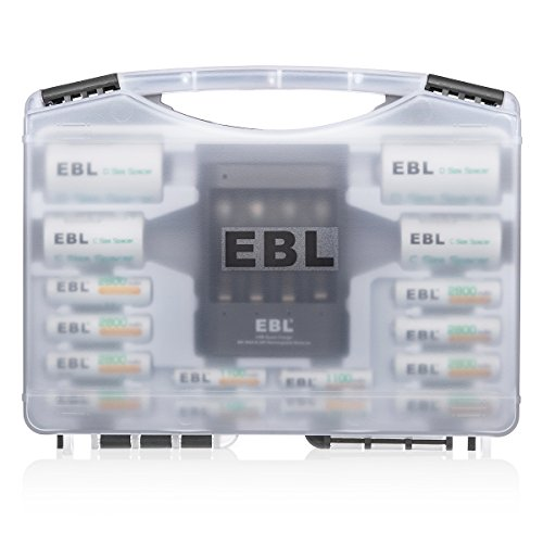 EBL Battery Sets #02 - 40Min iQuick Individual Battery Charg
