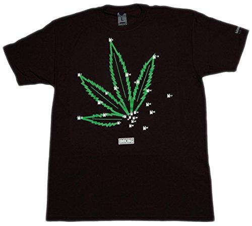 IMKING Pot 2 Pot T-Shirt (Small, Black)