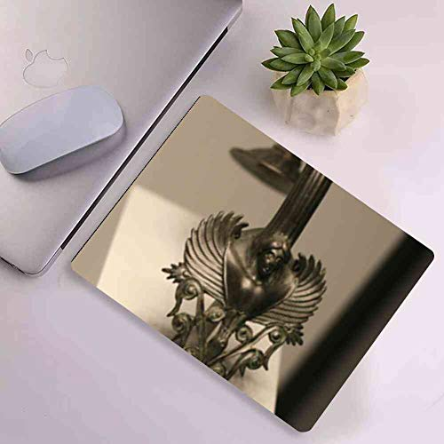 - Mouse Pad Rectangle Mouse Pad Antiquities Cup Handle Metal Work Exhibit Display #13383 Feature 260mm210mm3mm