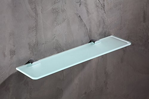 19.69'' Glass Shelf - Polished Chrome - Essence Series AC-AZ050 - ANZZI by ANZZI (Image #1)
