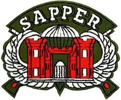 U.S. Army Corps of Engineers Sapper Patch (Us Army Corps Patch)