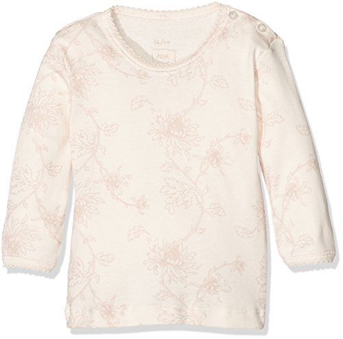 NOA NOA MINIATURE Baby-Mädchen Bluse Basic Printed Body, Rosa (Angel Wing 345), 74 (Herstellergröße: 9M)