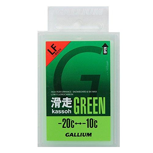 GALLIUMWAX【ガリウム】ワックス滑走GREEN50g[SW2123]【スノーボード・固形ホットワックス・フッ素】