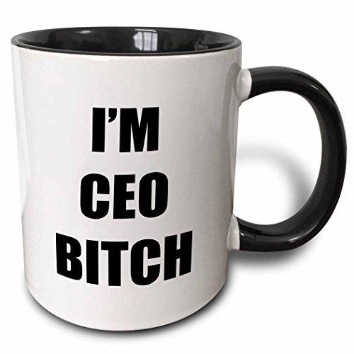 3dRose IM CEO BITCH mug 223073 4