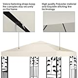 Tangkula Canopy Cover 9.8' X 9.8' Outdoor Patio