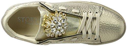 Ginnastica Platino Oro Donna Stokton Basse Scarpe da Sneaker qn7w0vt