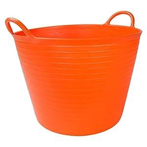Rubi 88704 - Capazo (Plástico, 25 l) color naranja