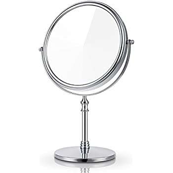Amazon Com Miusco 7x Magnifying Two Sided Vanity Makeup