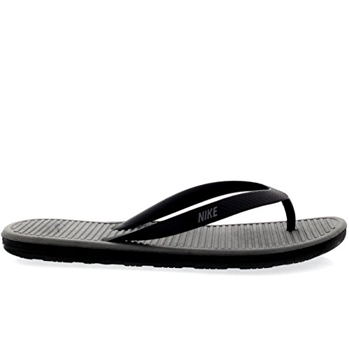 b26975f97bd6 60%OFF Nike Solarsoft Thong 2 Black Grey Mens Sandals - appleshack ...