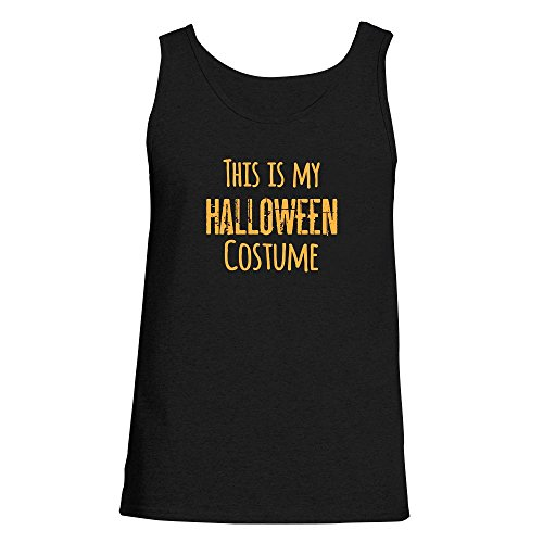 This Is My Halloween Costume Black S Mens Tank Top by Pop Threads