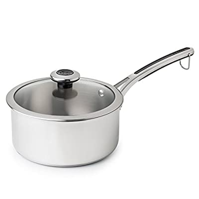 Chicago Cutlery Revere Steamer Basket for 3 quart and Aluminum Sauce Pans, One Size, Stainless Steel