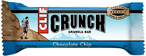 CLIF CRUNCH - Granola Bar - Chocolate Chip -