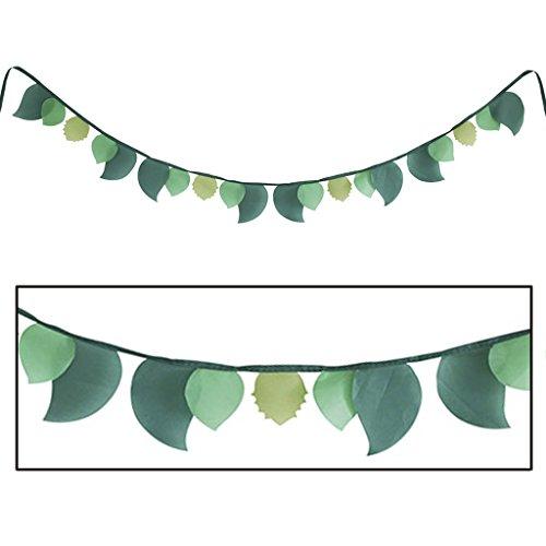 (Time Concept Kids ABC Bestiaire - Leaf Banner Flag - Children Playhouse Toys, Home/Bedroom Décor)