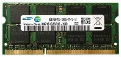 Samsung Original 16GB Kit (2 X 8GB) 204-Pin SODIMM, DDR3 PC3L-12800, 1600MHz RAM Memory Module For Laptops Memory at amazon