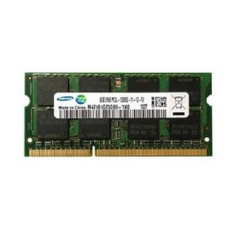 Samsung ram memory 16GB kit (2 x 8GB) DDR3 PC3L-12800,1600MHz, 204 PIN SODIMM for laptops - 16 Gb Computer Ram
