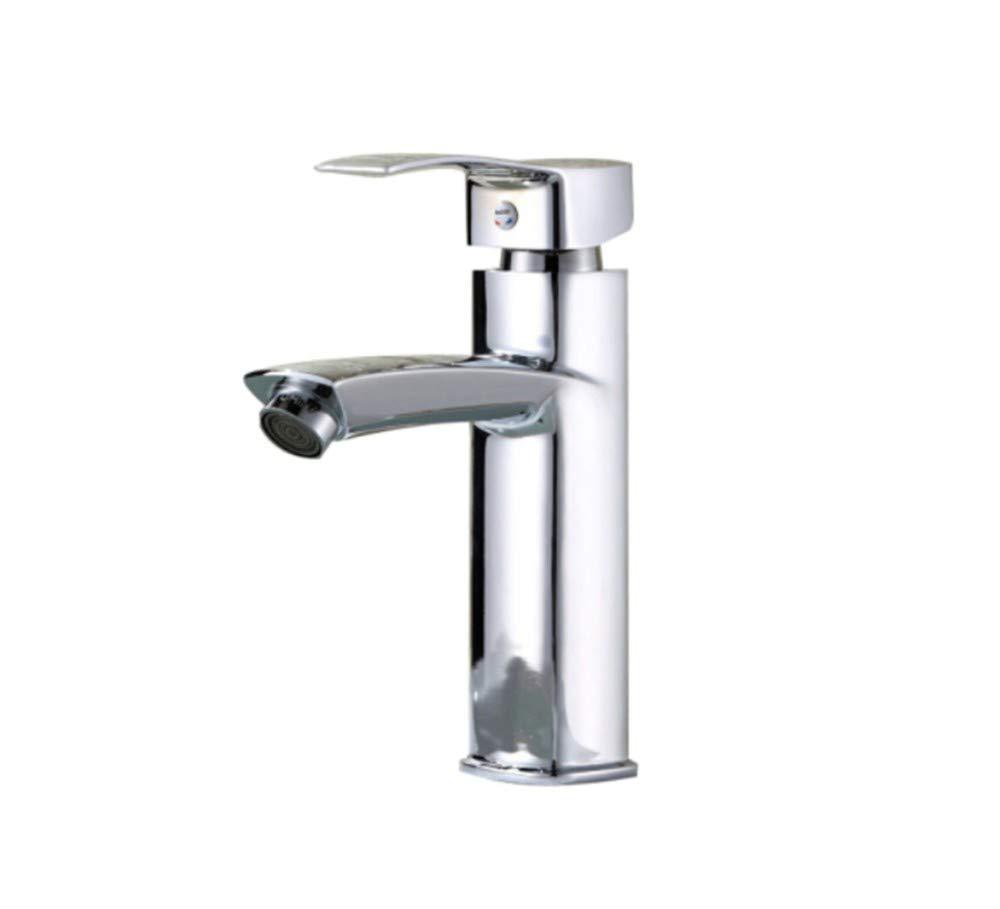 Edelstahl Einhand Wasserhähne Küche Becken Heißer Und Kalter Wasserhahn Waschbecken Heizung Und Kühlung Einlochbassin Wasserhahn Becken Mischventil
