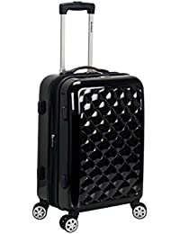 Rockland Luggage Melbourne 20 Inch Expandable Carry On, Quilt