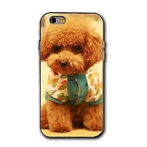 SHOUJIKE Lovely Dog Pattern Design Plastic Hard Case for iPhone 6 Plus
