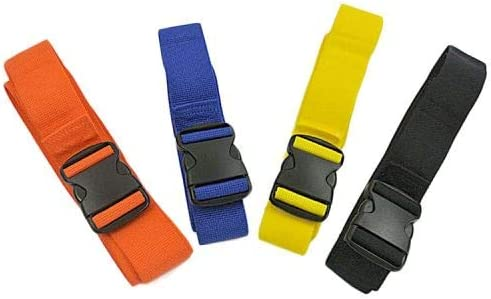 4 Straps Guard Color-Coded Spineboard Straps