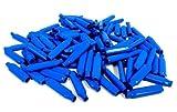 1000 Pieces Blue Gel Wet B Connectors Telephone Alarm Wire Crimp Beanies Splice