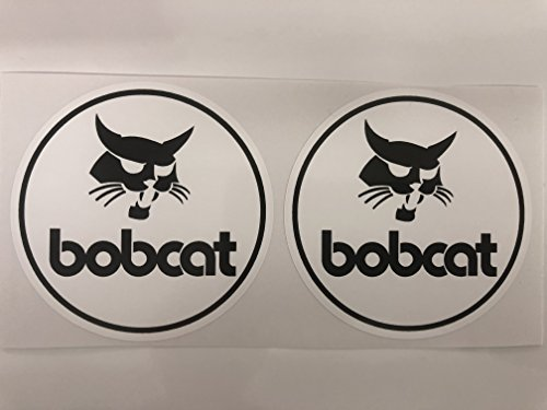 2 Bobcat Round Decals by ()