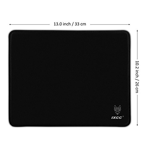 41LnusID8HL - iXCC Professional Gaming Mouse Pad with Pique cloth Textured Surface - Medium Size (13 × 10.2 × 0.2in)