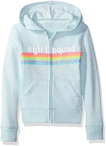 The Children's Place Girls' Zip Up Hoodie