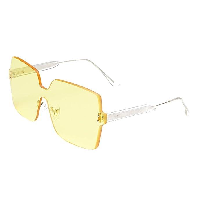 UKLoving gafas de sol hombre polarizadas UV400 Unisex - gafa de sol mujer polarizadas baratas Clásico Retro Oversized Protección - gafas de sol Polarizado ...