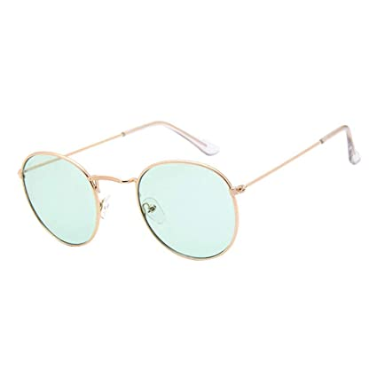 Amazon.com: Hot 100% Polarizd Sunglasses Women/Men Round ...