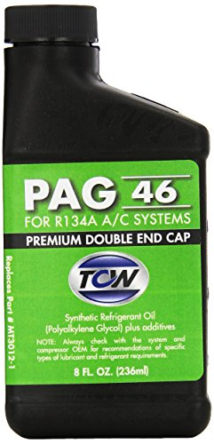 TCW MT3012-1 PAG 46 Premium Double End Cap Compressor Oil, 8 (2005 Toyota Celica Oil)