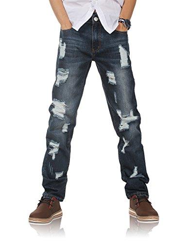- Demon hunter 802R Series Men's Straight Leg Regular Fit Jeans 802R7(30)