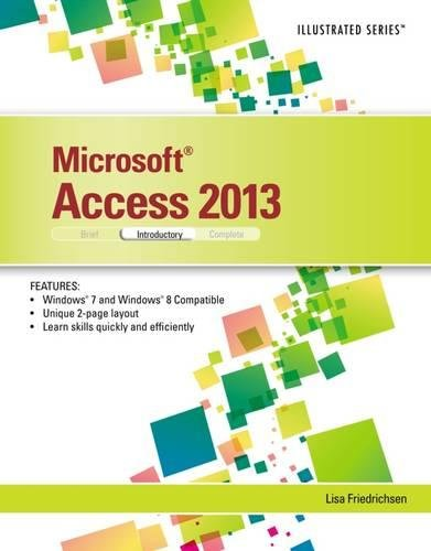 Microsoft Access 2013: Illustrated Introductory [Lisa Friedrichsen] (Tapa Blanda)