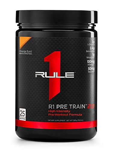 R1 Pre Train 2.0, Rule 1 Proteins (25 servings, Orange Burst)