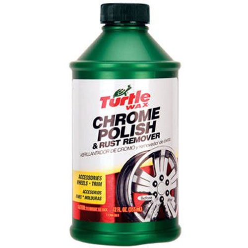 Turtle Wax T-280RA Chrome Polish & Rust Remover - 12 oz. (Best Chrome Polish For Rims)