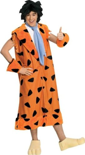 Fred Flintstone Teen Men's Costume - Scoobydoo Fred Adult Costumes