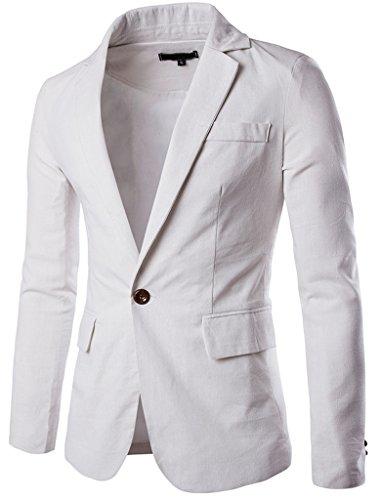 Linen Sport Coat Blazer Jacket - 9