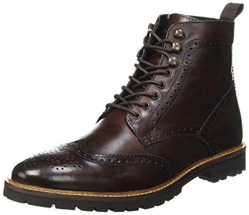 Base London Troop, Stivali Uomo Marrone (Washed Brown 208)