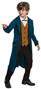 Steampunk Kids Costumes | Girl, Boy, Baby, Toddler Rubies Costume Boys Fantastic Beasts & Where To Find Them Deluxe Newt Scamander Costume Medium Multicolor $30.58 AT vintagedancer.com