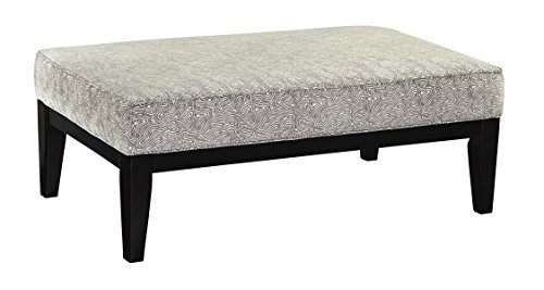 Benchcraft - Brielyn Contemporary Oversized Accent Ottoman - Linen