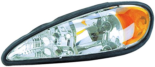Dorman 1591004 Driver Side Headlight Assembly For Select Pontiac - Drivers Pontiac Grand Headlight Am
