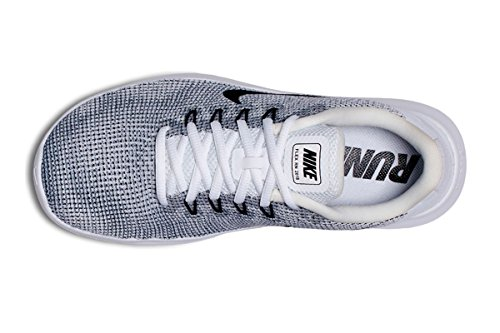 Cool Femme NIKE White Wmnsflex RN Black Multicolore 001 2018 Grey Basses Sneakers wXqz1OX