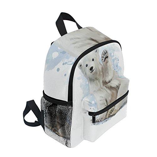 Bear Polar nbsp;School nbsp;Toddler nbsp;Bag nbsp;for Funny Boys Kids nbsp;Backpack nbsp;Girls nbsp;Book ZZKKO Uf7xwx