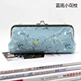HATCHMATIC 19 * 8 * 2.5cm Handmade Handbag Purse Frame Pen Bag DIY Crafts Material Kit for Women Clutch Purse Frame Pouch Free shipping: design 7