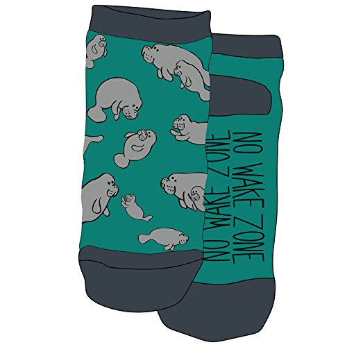 Manatee Slipper Socks