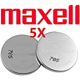 5 X Maxell CR2032 2032 Battery Lithium Coin Button Batteries