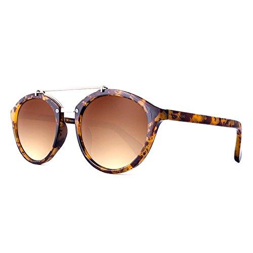 Maltessa Volutto Gafas de sol, Carey/Marrón, 52 Unisex ...