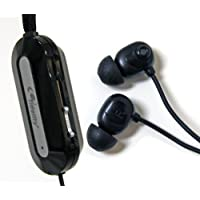 Fidelity Noise Cancelling  Earphones with Titanium Drivers for Portable Media Devices - Black