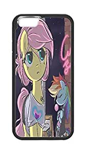 [case forcolor]:80s style Fluttershy and Dash Hard Case for Iphone6 4.7.