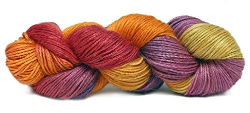 Fiesta Yarns Hand Dyed Ballet Yarn, (Crochet Salsa)